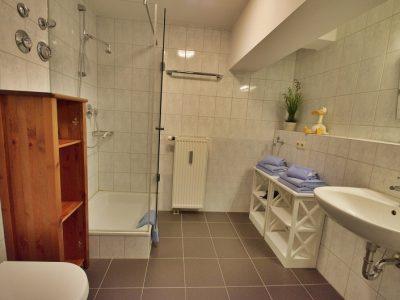 Ferienwohnung C Badezimmer