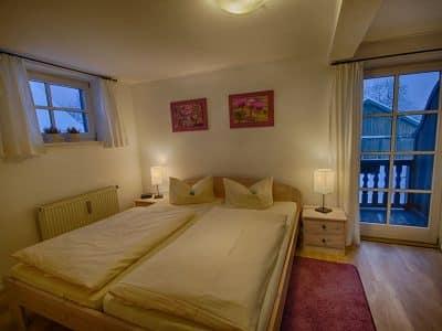 Ferienwohnung-A Schlafzimmer