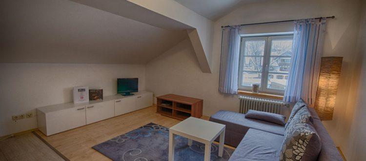 Wohnung D Wohnzimmer