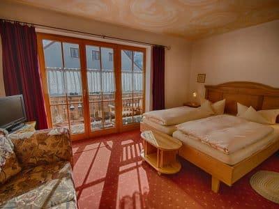 Komfort Zimmer 5 Hotel Fux Oberammergau