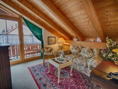 Komfort Zimmer 9, Twin, Wohnbereich Hotel Fux*** Wohnbereich
