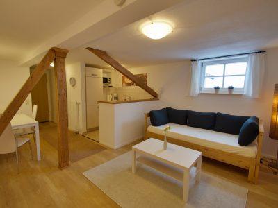 Wohnung A Wohnzimmer -