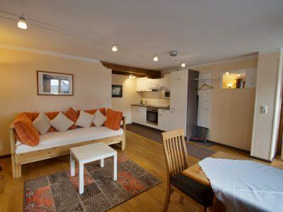 Wohnung 11 Wohnzimmer 2 - oberammergau Hotel Fux