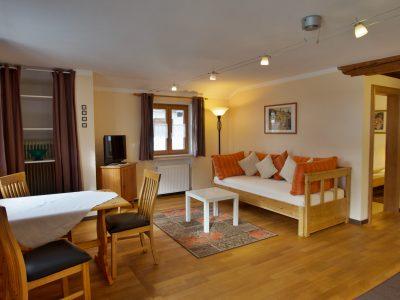 Wohnung 11 Wohnzimmer - oberammergau Hotel Fux