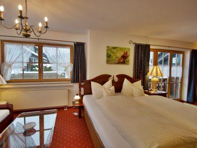 Juniorsuite 4 Zimmer - oberammergau Hotel Fux