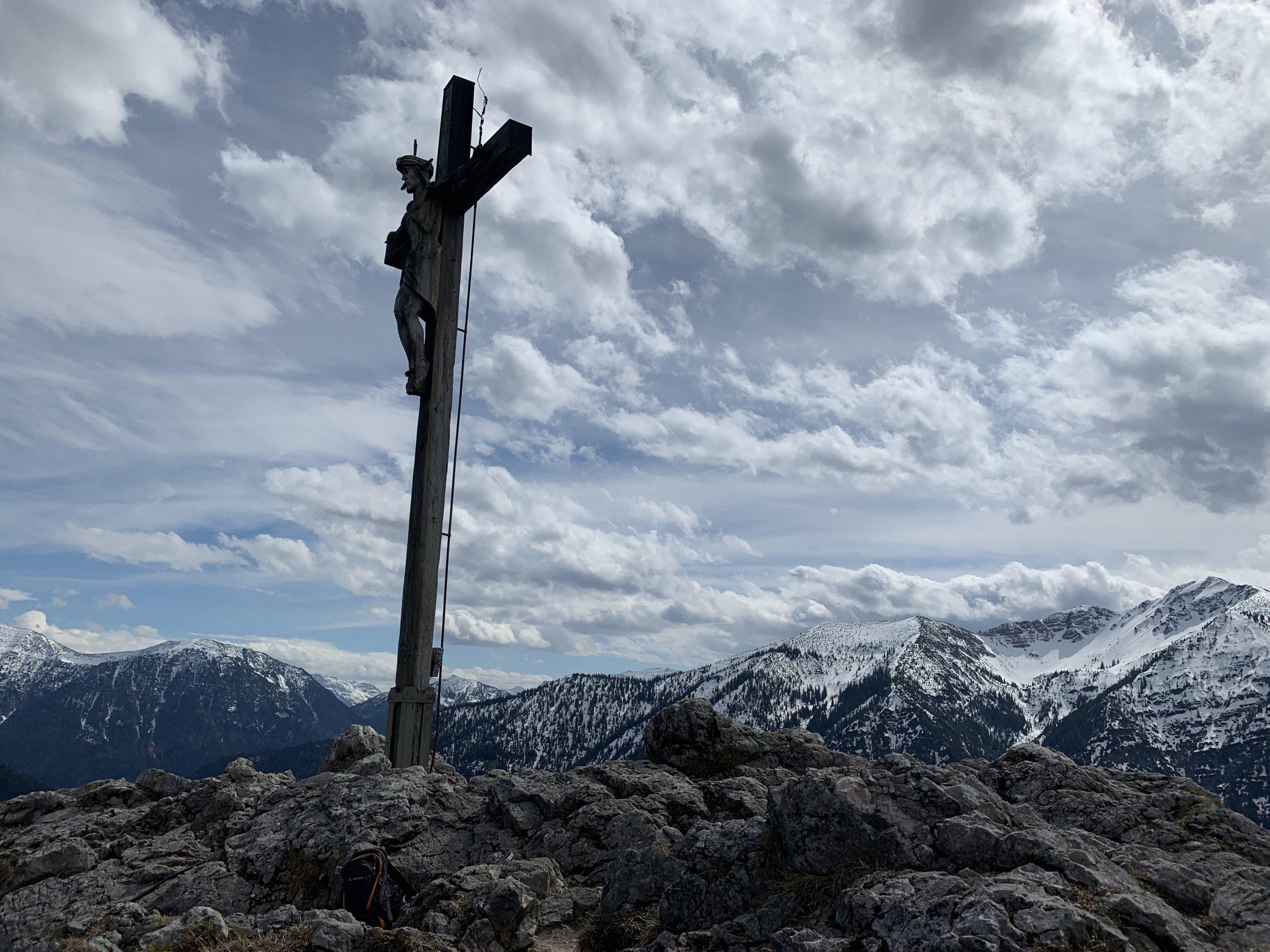 Kofel Wanderung Oberammergau - Bergtour