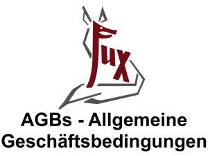 Allgemeine Geschäftsbedingungen - Hotel Fux Oberammergau