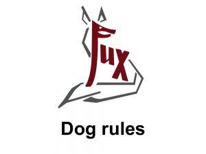 Dog rules - Hotel Fux Oberammergau