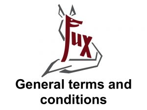 General terms and conditions - Hotel Fux Oberammergau