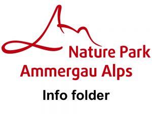 Info folder - Naturpark Ammergauer Alpen - Hotel Fux Oberammergau