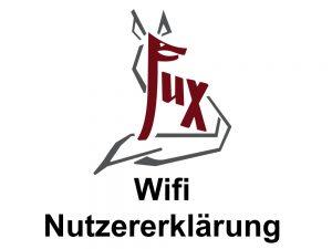 Wifi Nutzererklärung - Hotel Fux Oberammergau