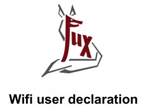 Wifi user declaration - Hotel Fux Oberammergau